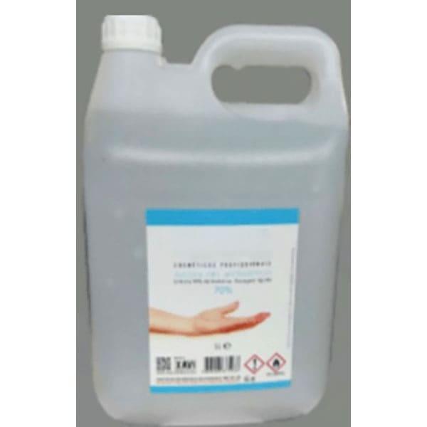 Garrafa 5L. de solución hidroalcohólica al 75%