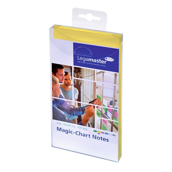 Magic Chart Notes 10x20cm AMARILLO