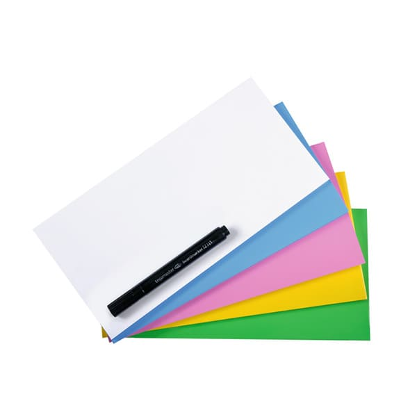 Magic Chart Notes 10x20cm 5 COLORES