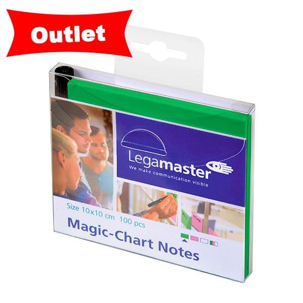 3x2 Magic Chart Notes 10x10cm VERDE