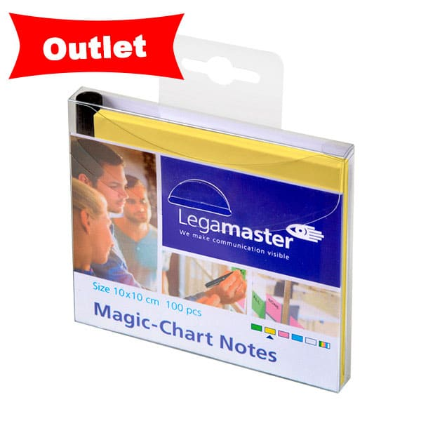 3X2 Magic Chart Notes 10x10cm AMARILLO