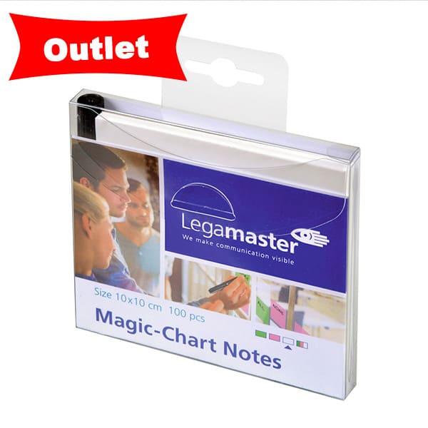 3X2 Magic Chart Notes 10x10cm BLANCO