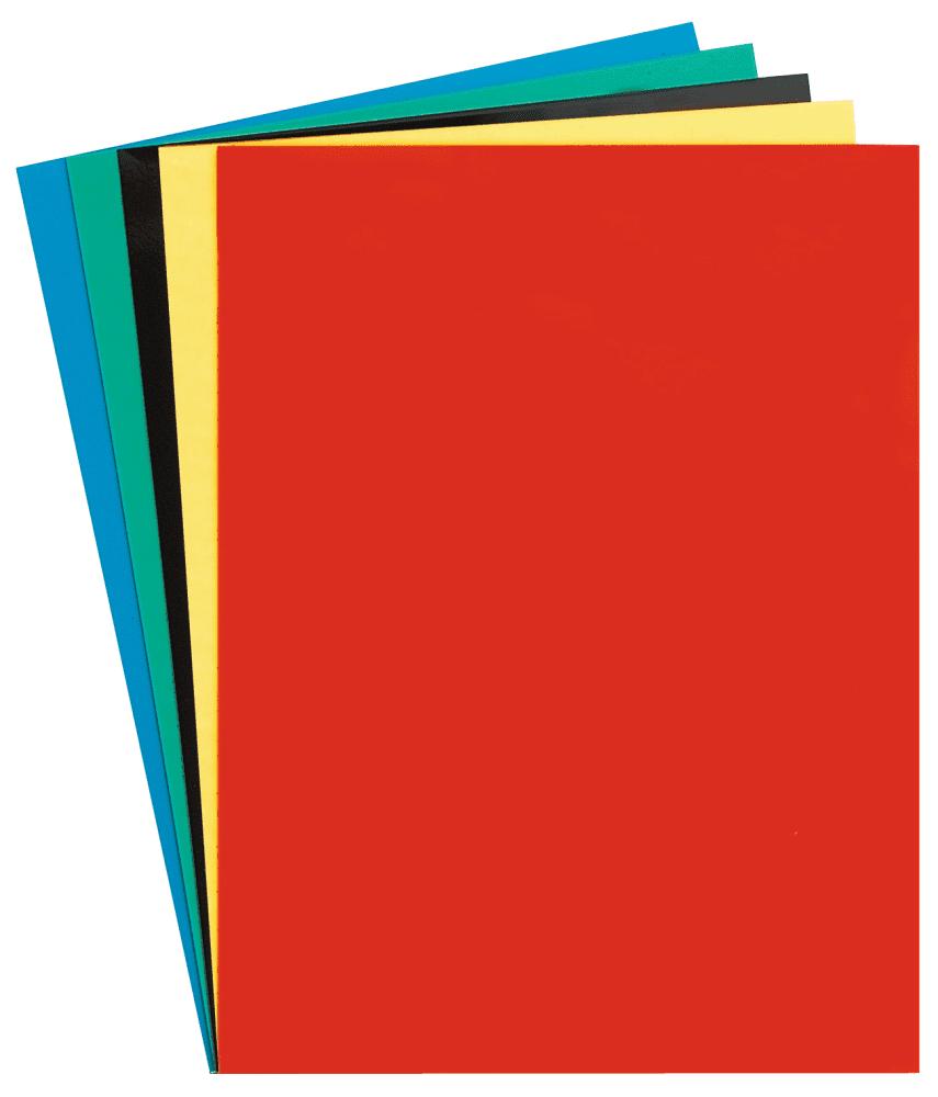 Hoja magnética 240x320x1,7 mm para recortar, color rojo