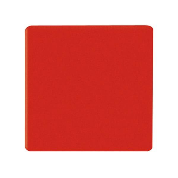 Pack de 96 imanes cuadrados 10x10 mm color rojo