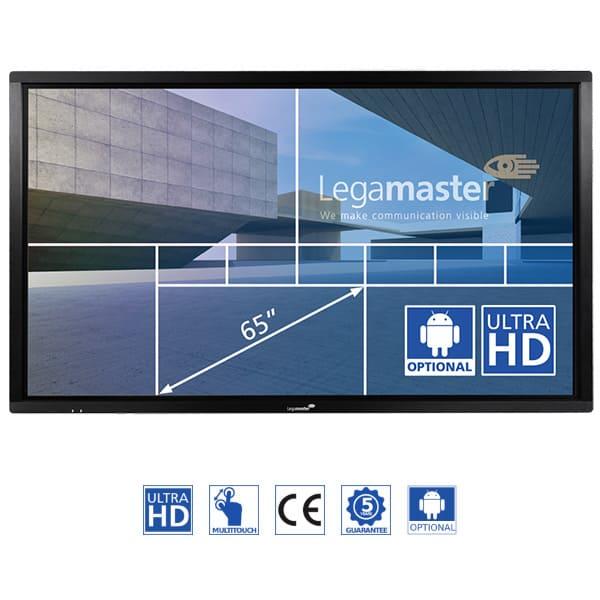 Pantalla Digital Multi-táctil e-Screen ETX-6510UHD 4K