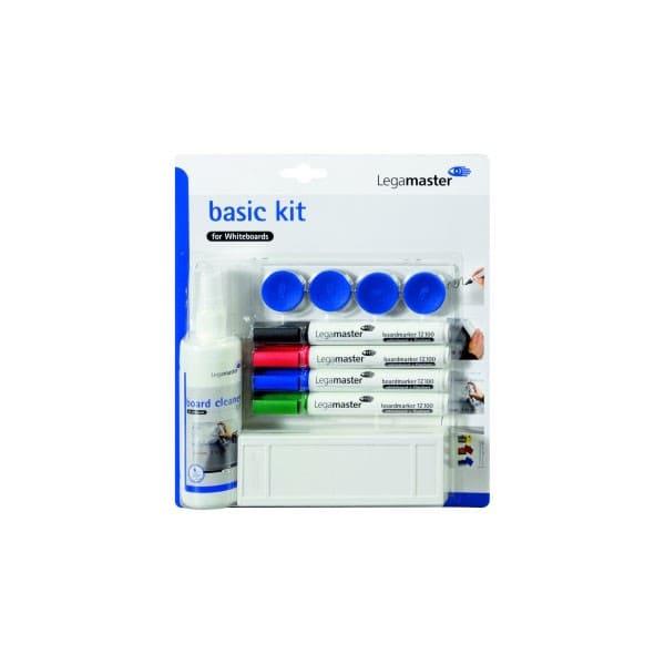 Kit BASIC de accesorios para pizarra blanca